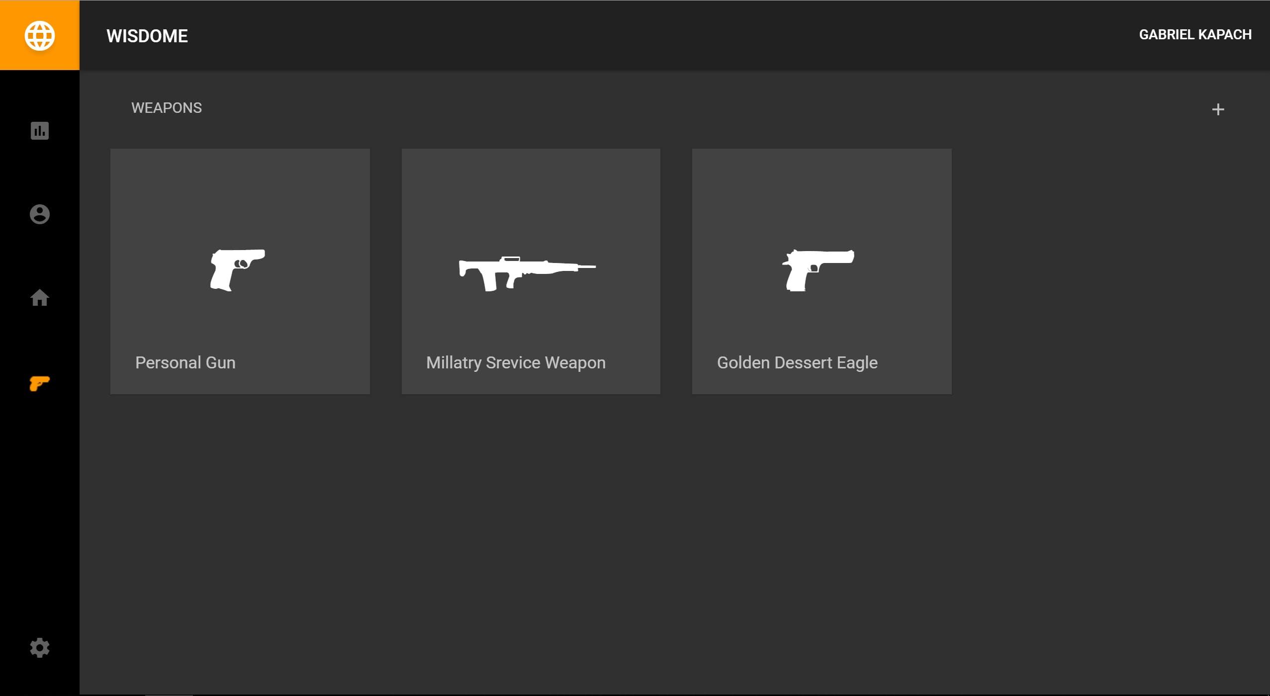 Your registered guns
