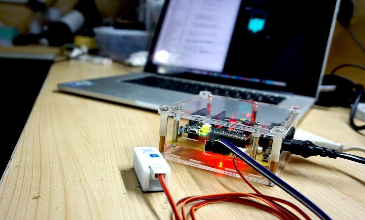 Project Gallon Smart Drinking Water Monitoring Platform 10segment Led Bar Graph Circuit With An Arduino Hub