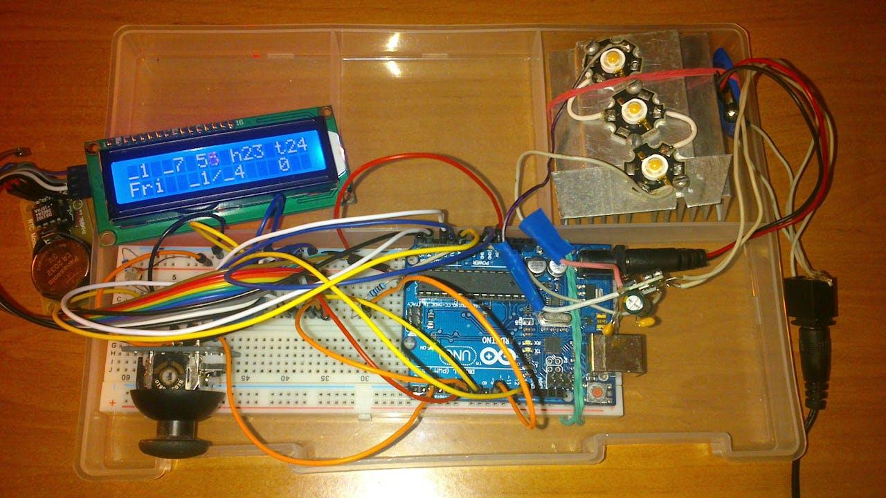 Sensal All Senses Alarm Clock Day Light Circuit Diagram