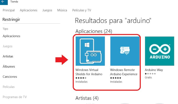 Windows Store for Arduino
