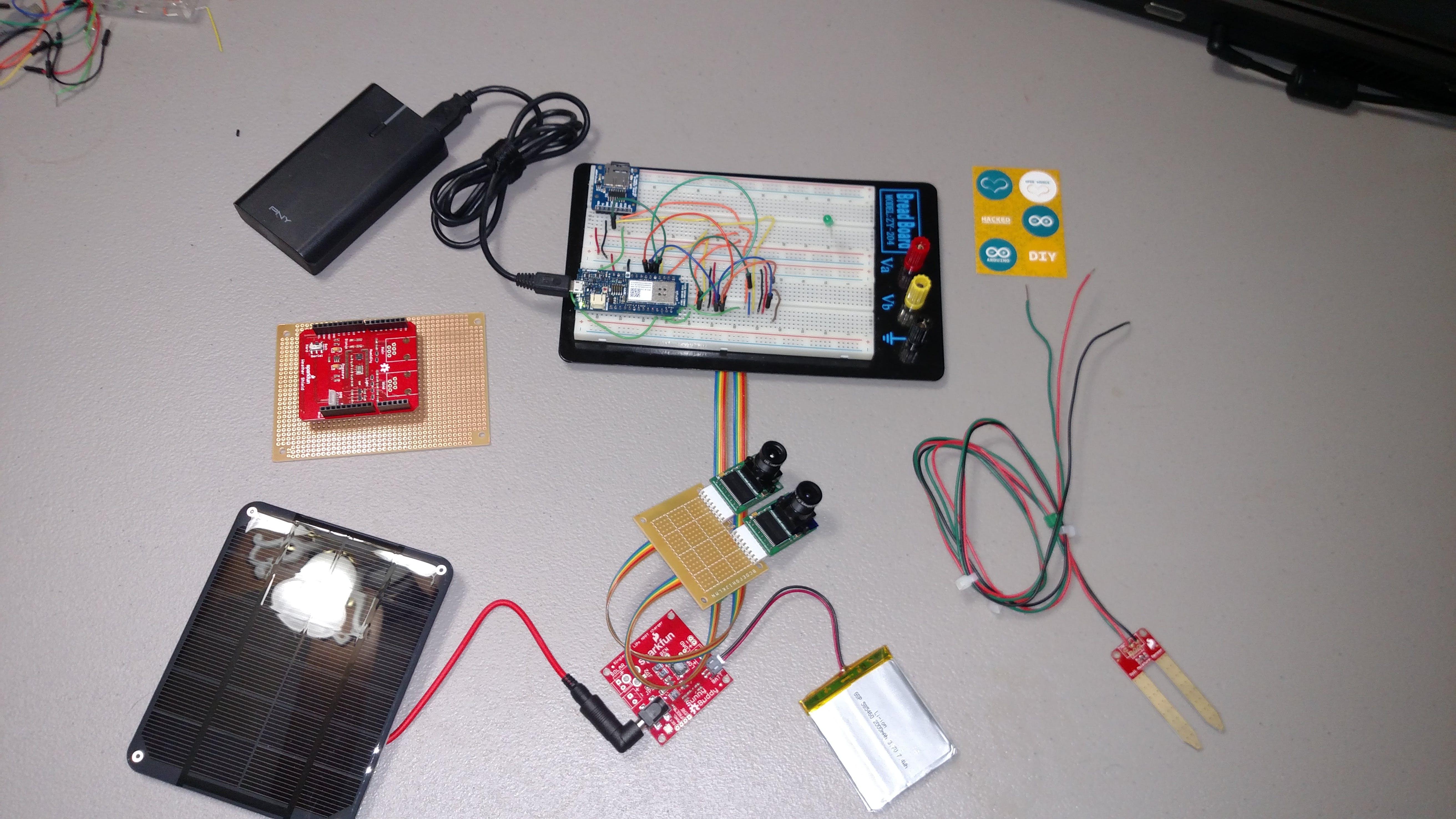 Hardware used for PlantAnalyzer V1.0