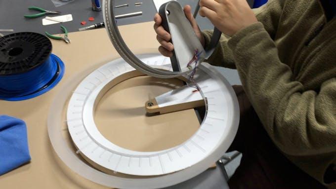 Lights and Inner Ring Installation
