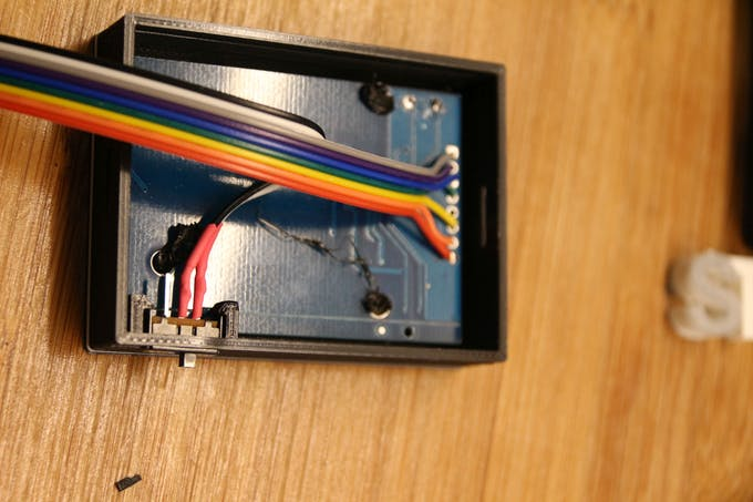 RFID module wiring and ON/OFF switch