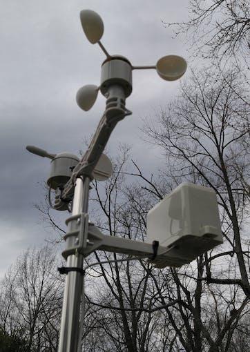 External weather meter