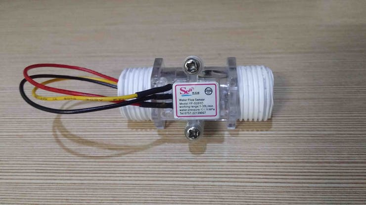 Water Flow Sensor YF-S201C