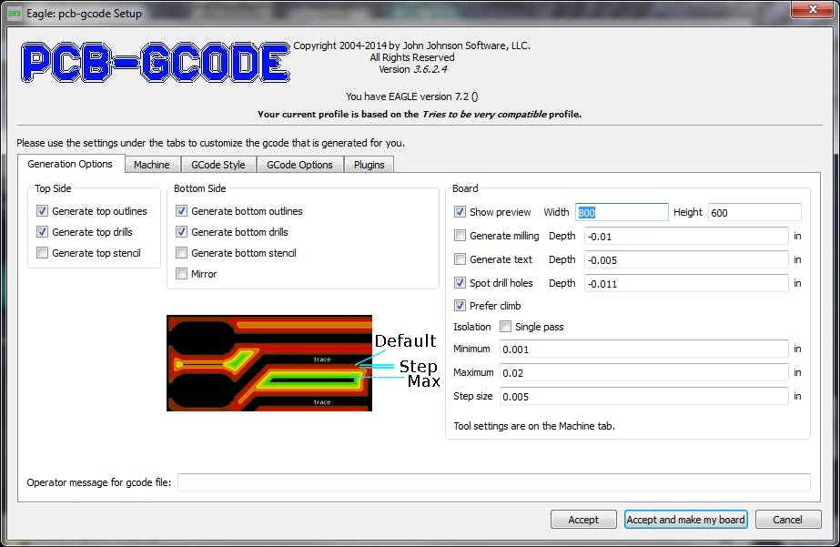 Create G-Code from an EAGLE File - Hackster io