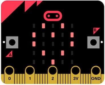 BBC micro:bit board