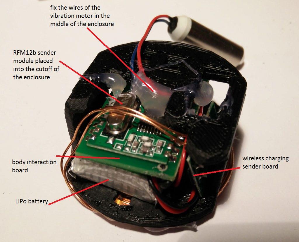 Silicone Overmolded Vibrator Balls Revisited Attiny Candle Electronicslab