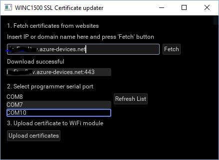 FIrmware Updater Tool