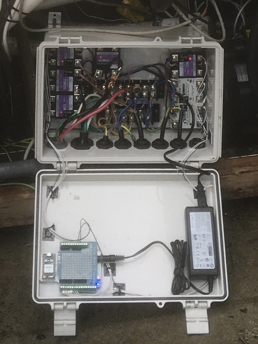 New MACSBOOST hot tub control system