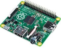 Figure 2: Raspberry Pi A+