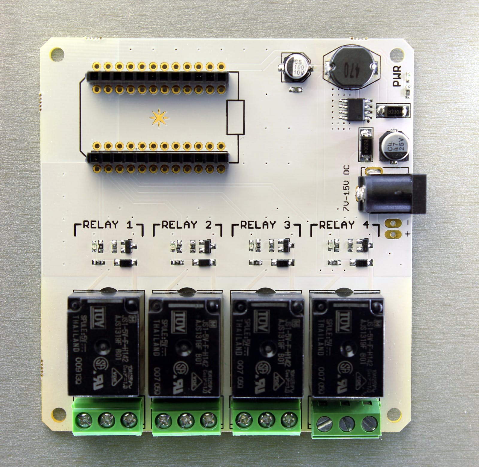 Spark Core Relay Shield - this has been replaced with a newer version but still operates the same.