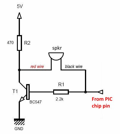 Fig-10: 5v BC547 NPN simple audio amp