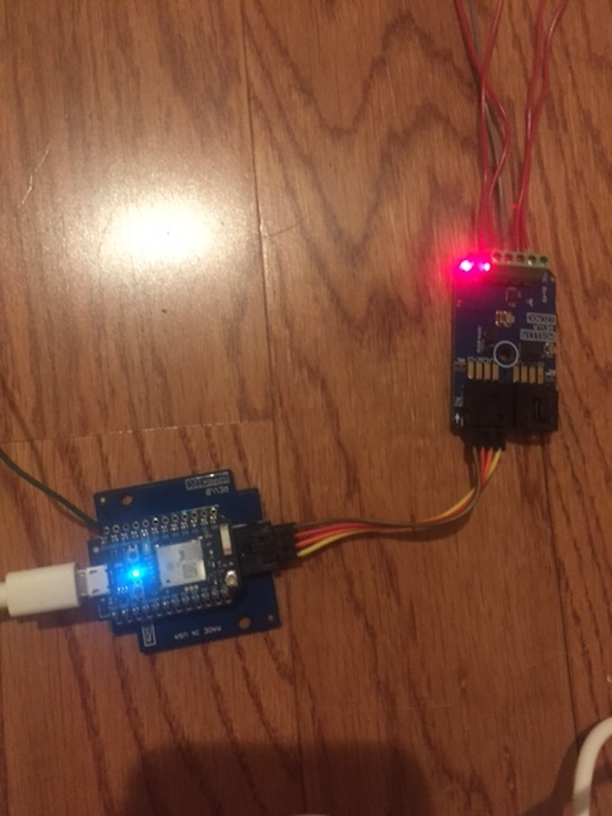ADC connected to Photon via I2C