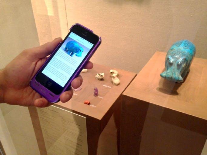Testing the Met's 'beacon walk' prototype