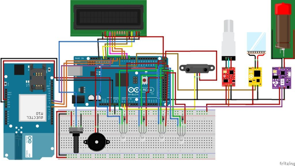 Water Quality Monitoring and Notification System - Arduino