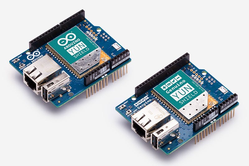 Arduino Yun Shield & Genuino Yun Shield