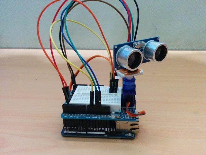 Ultrasonic map maker using an arduino yun hackster
