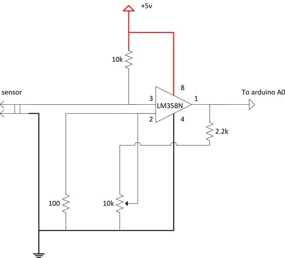 sensor reading schematics