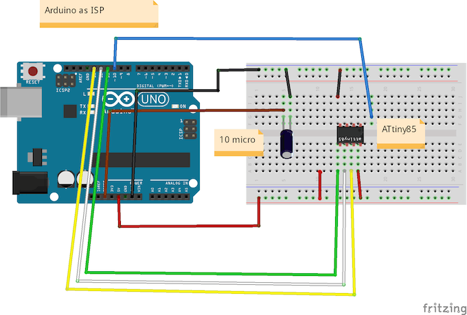 Attiny with bluetooth hackster