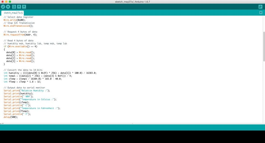 ESP8266 temp Humidity monitoring web app using Arduino IDE - Hackster io