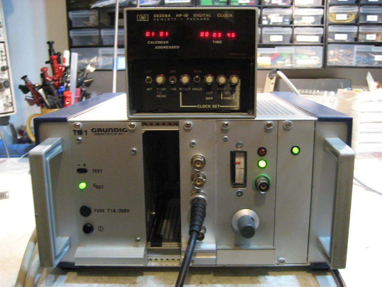 A Homebrew Rubidium Oscillator Clock Design Of Digital Circuit In The 50 Hz 220