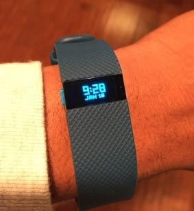 My Fitbit Charge HR