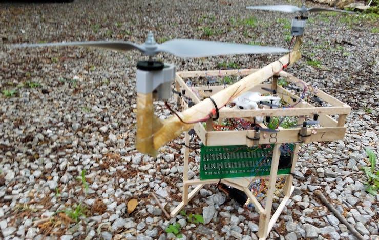 Adding 2 large main rotors