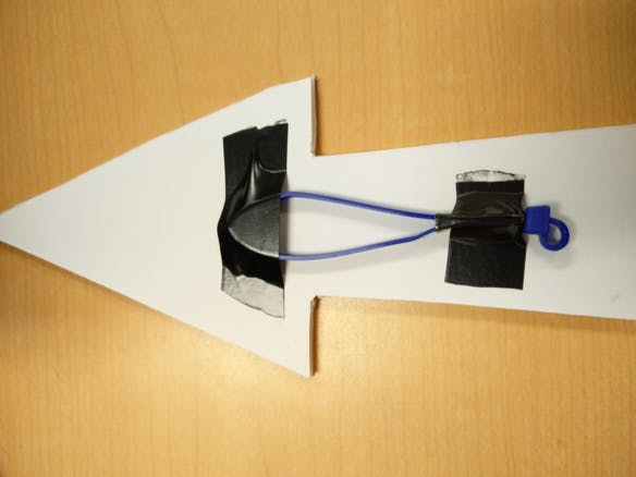 Ziptie stepper motor attachment system (tm)