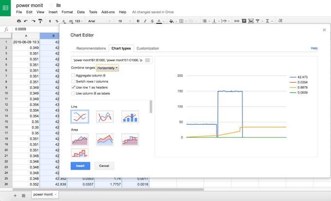 arduino google graph