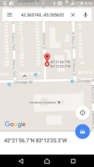 GPS Accuracy is very good!