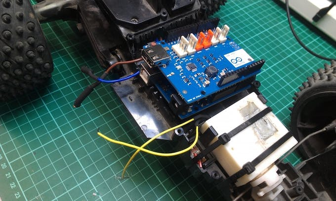 Joystick controlled rc car arduino project hub