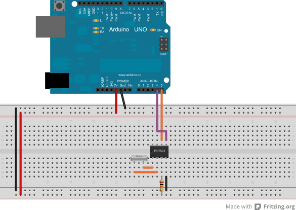 Real Time Clock (RTC) PCF8563 - Arduino Project Hub