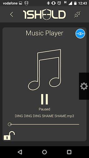 Open shame soundtrack on your smartphone