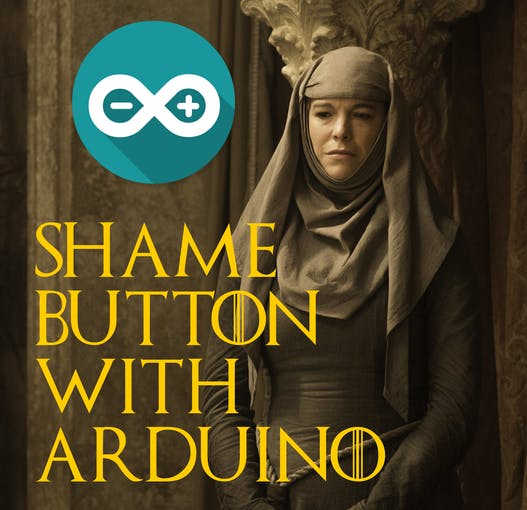 Shame button project with Arduino