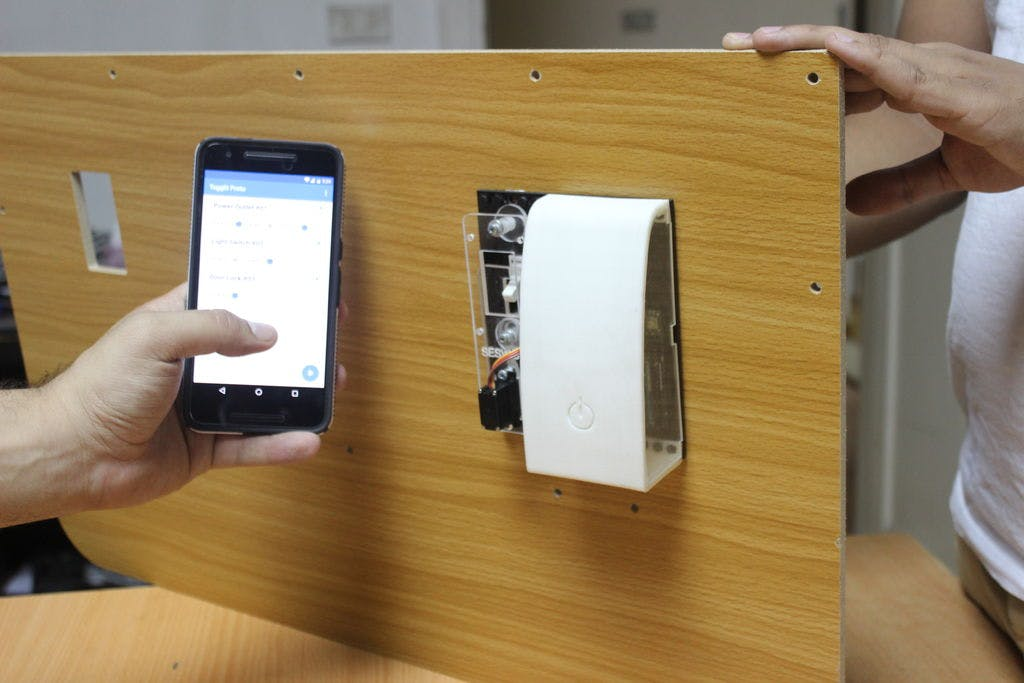 Smartphone Light Switch how to control your light switch from your smartphone? - arduino