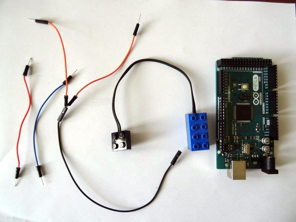 Arduino And Visuino Use Lego Mindstorm Rcx Light Sensor Wiring Mega