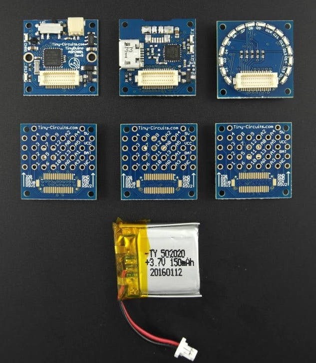 TinyDuino Starter Kit – Lithium Version