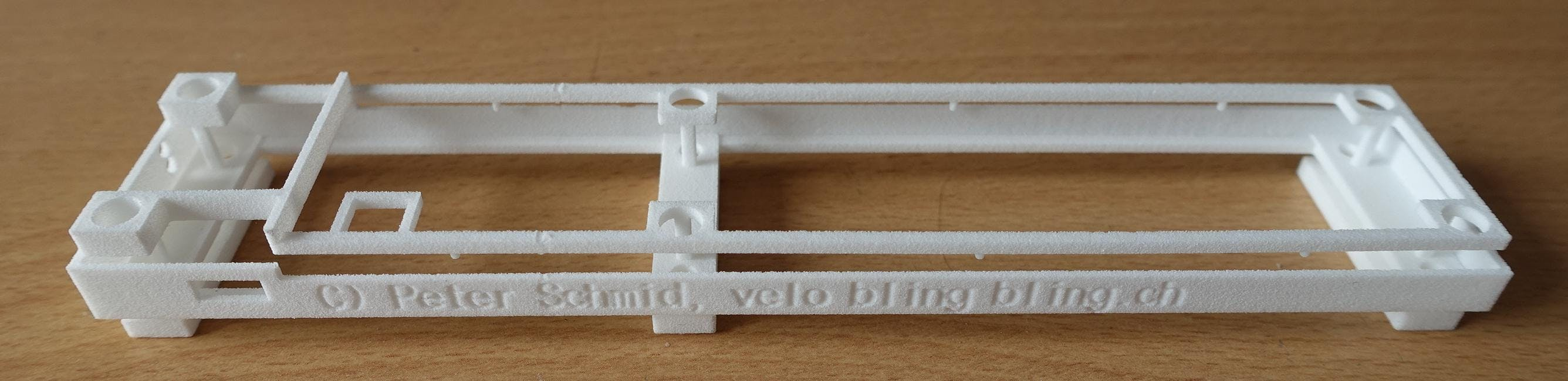 PCB Mounting Frame, 3D Printing Part