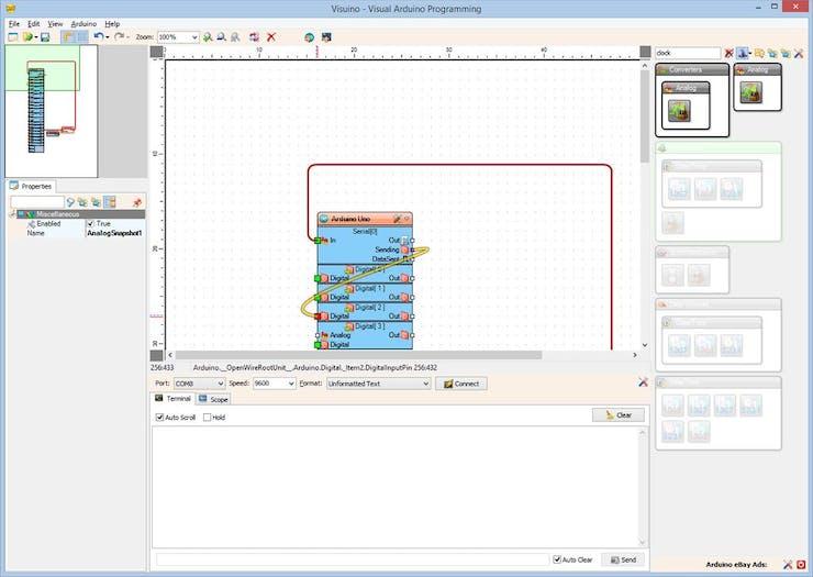 RS485 Serial Communication between Arduinos with Visuino - Hackster io