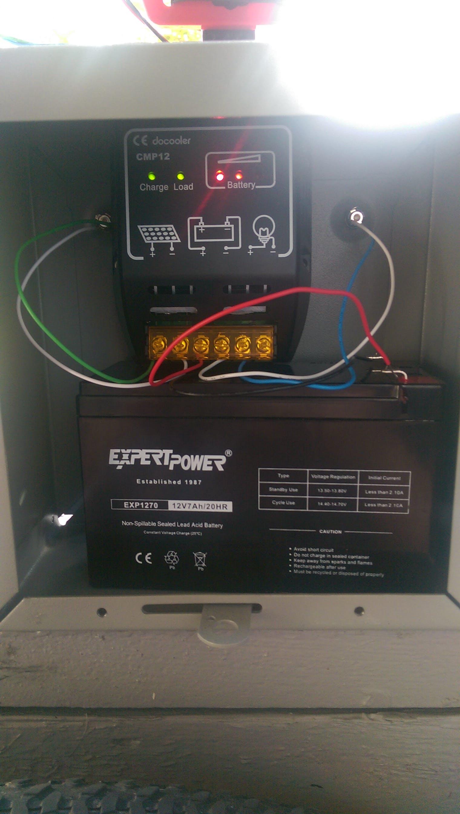 Lead acid battery charging