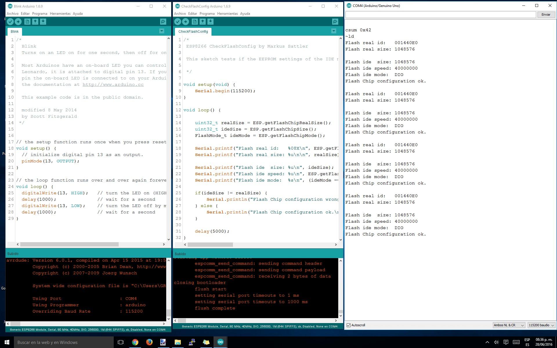 Using Arduino IDE