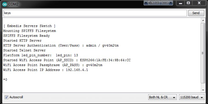 Setup Embedis: a WWW IoT Keystore - Hackster io