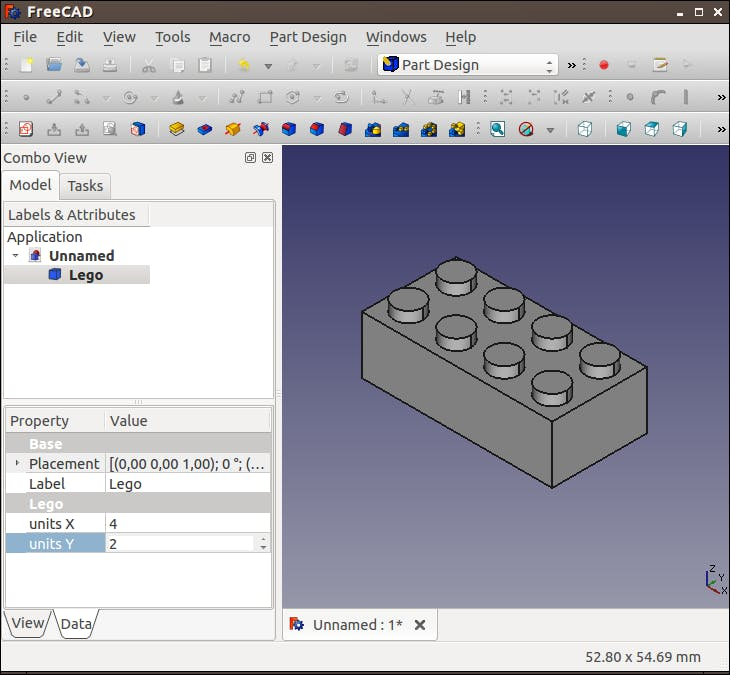 How to Design a LEGO Compatible Servo Holder in FreeCAD - Hackster io