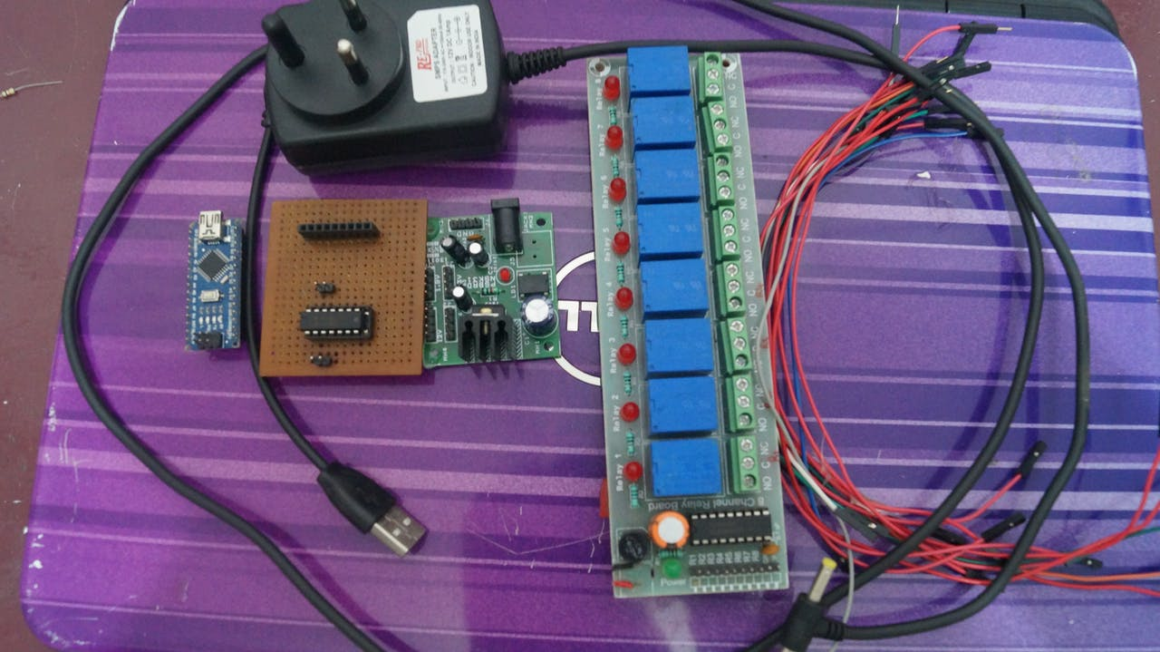 Nano Relay Module Arduino Project Hub 8 Channel Wiring Diagram