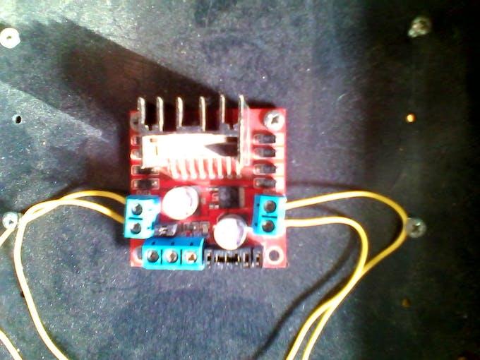 L298 DC Motor Driver Module