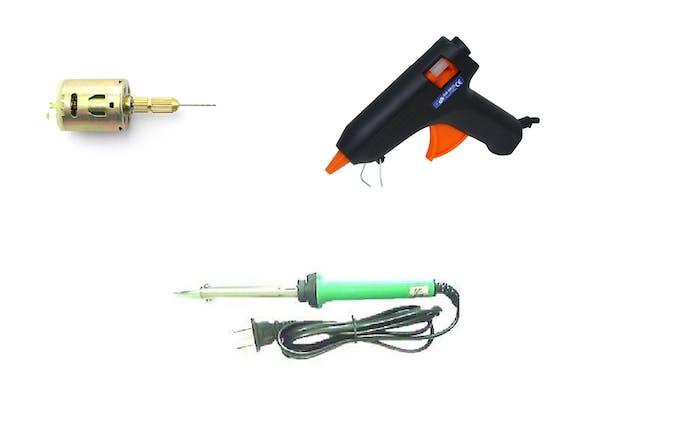 Tools : Gear Motor, Soldering Iron, Got Glue Gun