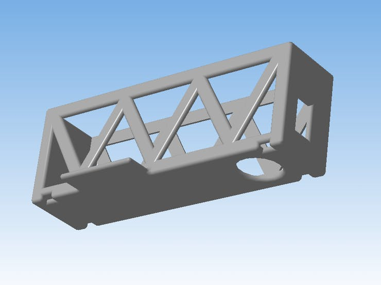 3D model for the powerbank holder