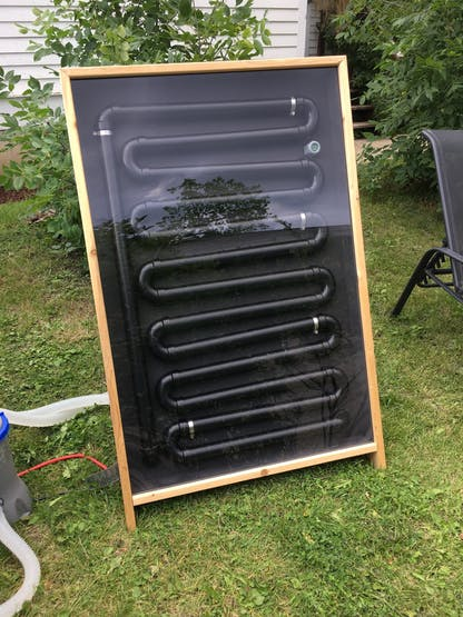 Solar Collector Front