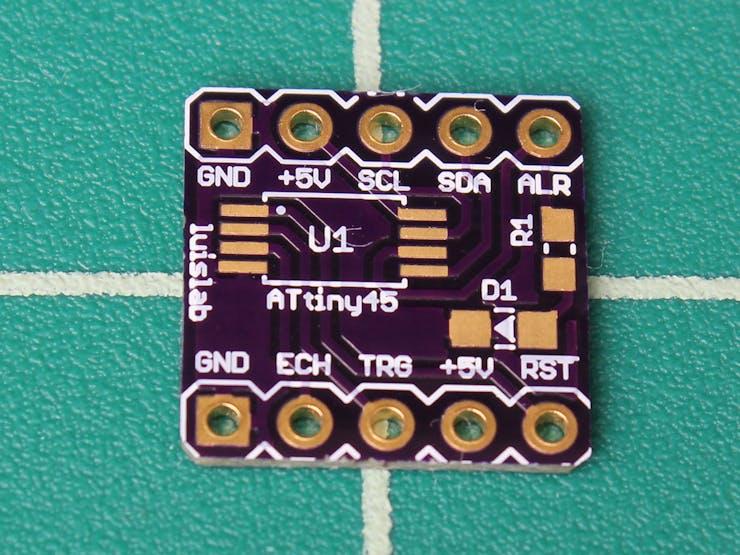 ATiny45 board